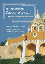En una Palabra, Puebla, Mexico: A CD-ROM For Exploring Culture In Spanish