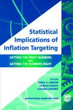 Statistical Implications of Inflation Targeting:  Getting the Right Numbers and Getting the Numbers Right