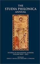 Studia Philonica Annual XXIV, 2012