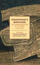 Shakespeare's Montaigne