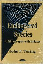 Endangered Species: A Bibliography with Indexes