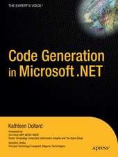 Code Generation in Microsoft .NET