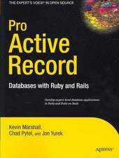 Pro Active Record: Databases with Ruby and Rails