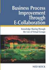 Business Process Improvement Through E-Collaboration