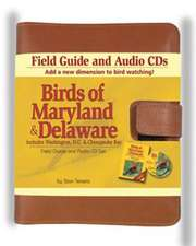 Birds of Maryland & Delaware Field Guide & Audio CD Set:  Includes Washington DC & Chesapeake Bay [With Leather Carrying Case and CDs]