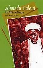 Ahmadu Fulani: An African Poetry