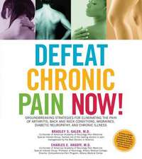 Defeat Chronic Pain Now!:  Groundbreaking Strategies for Eliminating the Pain of Arthritis, Back and Neck Conditions, Migraines, Diabetic Neuropa