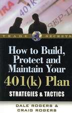 How to Build, Protect, and Maintain Your 401(k) Plan:  Strategies & Tactics