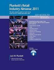 Plunkett's Retail Industry Almanac 2011