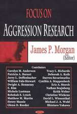 Focus on Aggression Research