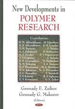 New Developments in Polymer Research