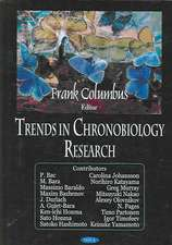 Trends in Chronobiology Resear