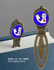 Book Lover's Bookmark - Book to the Heart