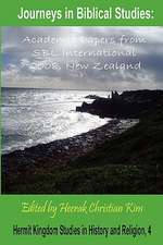 Journeys in Biblical Studies