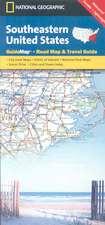 Southeastern USA: State Guide Maps