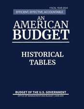 Historical Tables, Budget of the United States, Fiscal Year 2019