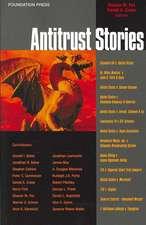 Fox, E:  Antitrust Stories