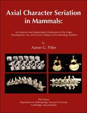 Axial Character Seriation in Mammals