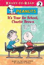 It's Time for School, Charlie Brown