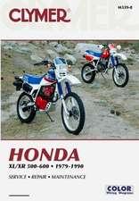 Honda XL/XR 500-600, 1979-1990