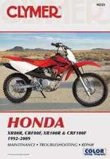 Honda XR80R, CRF80F, XR100R & CRF100F 1992-2009