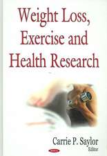 Weight Loss, Exercise, and Health Research