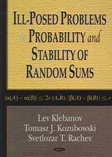 Ill-Posed Problems in Probability and Stability of Random Sums
