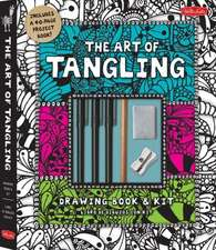 The Art of Tangling:  Drawing Book & Kit [With 1 Pencil, 2 Pens and Eraser and Sharpener and Paper]