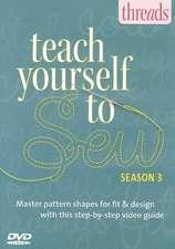 Teach Yourself to Sew - Season 3