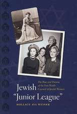 """Jewish """"Junior League"""":  The Rise and Demise of the Fort Worth Council of Jewish Women"""