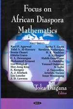 Focus on African Diaspora Mathematics