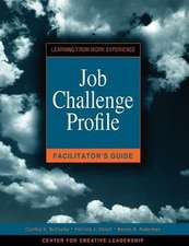 Job Challenge Profile Facilitator's Guide
