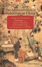 Administration of Buddhism in China