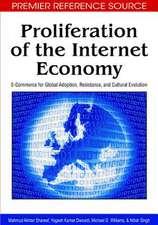 Proliferation of the Internet Economy
