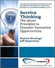 Service Thinking
