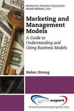 Marketing and Management Models