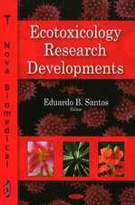 Ecotoxicology Research Developments