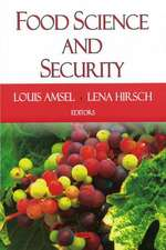 Food Science and Security