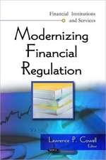 Modernizing Financial Regulation