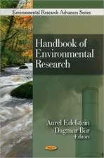 Handbook of Environmental Research