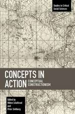 Concepts In Action: Conceptual Constructionism