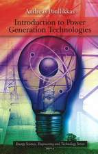 Introduction to Power Generation Technologies