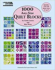 1,000 Any-Size Quilt Blocks (Leisure Arts #5593):  6 Sacks & Caps to Crochet