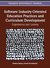 Software Industry-Oriented Education Practices and Curriculum Development