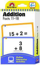 Flashcards:  Addition Facts 11-18