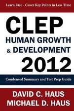 CLEP Human Growth & Development 2012