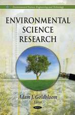 Environmental Science Research