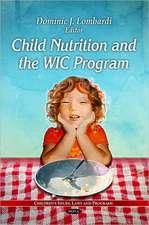Child Nutrition & the WIC Program