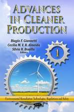 Advances in Cleaner Production