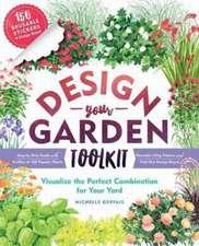 Design-A-Garden Book and Sticker Kit